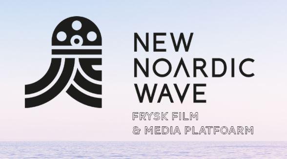 Logo van New Noardic Wave, partner van het Nachtkijkers Filmfestival