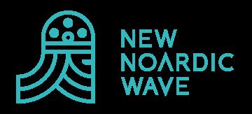 Logo New Noardic Wave, partner van Nachtkijkers Filmfestival
